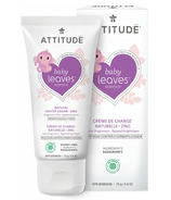 ATTITUDE Baby Leaves Zinc Diaper Cream