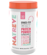 Natreve Grass Fed Whey Protein Powder Unflavoured & Unsweetened