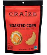 Craize Roasted Corn Toasted Corn Crackers
