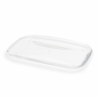 Umbra Droplet Amenity Tray Clear