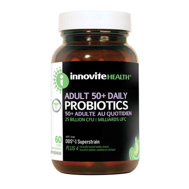 Innovite Health Adult 50+ Daily Probiotics 25 Billion CFU