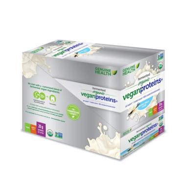 Genuine Health Fermented Organic Vegan Proteins+ Vanilla