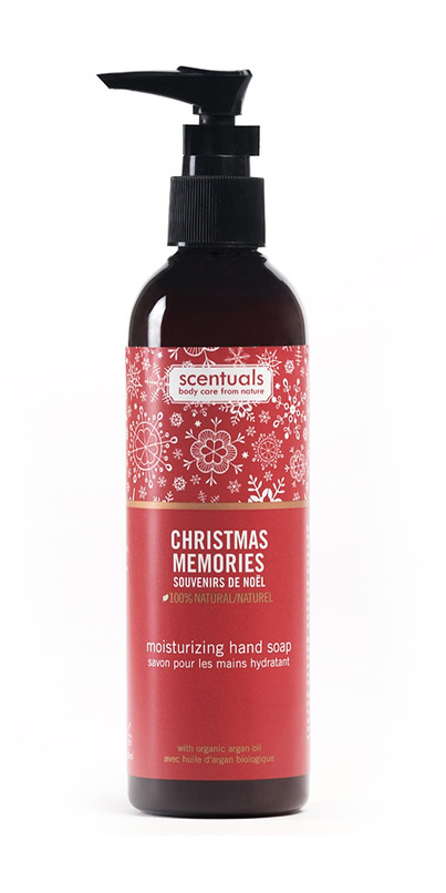 Scentuals Christmas Memories Liquid Hand Soap