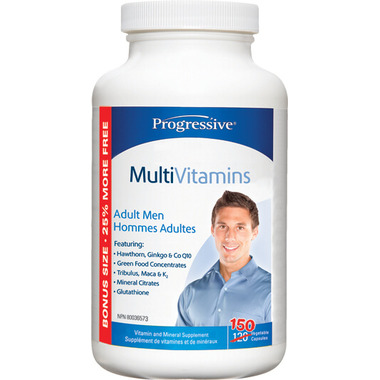 Progressive MultiVitamins for Adult Men Bonus Size