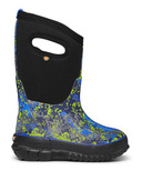 Bogs Kids Boot Classic Micro Camo Blue Multi