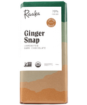 Raaka Ginger Snap Unroasted Dark Chocolate