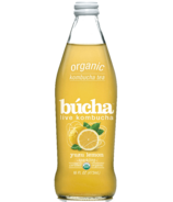Bucha Sparkling Kombucha Tea Yuzu Lemon