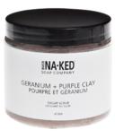 Buck Naked Soap Company Geranium + Purple Clay Sugar Scrub