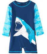 Hatley One Piece Rashguard Shark Alley