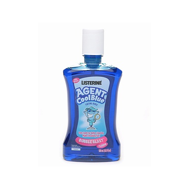 Listerine Agent Cool Blue Tinting Rinse