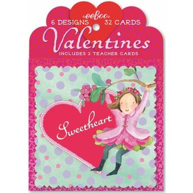 eeboo Valentine\'s Cards Fairy