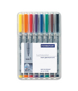 Staedtler Lumocolour Non-Permanent Super Fine Point Markers