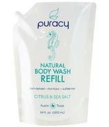 Puracy Natural Body Wash Refill