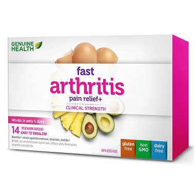 Genuine Health Fast Arthritis Pain Relief+ Trial Pack