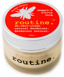Routine De-Odor-Cream Natural Deodorant in Maggie's Citrus Farm Scent