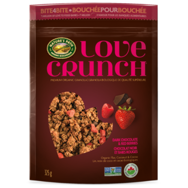 Nature\'s Path Love Crunch Premium Granola Dark Chocolate & Red Berries