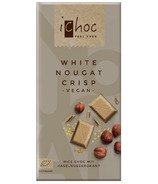 Ichoc White Nougat Crisp Chocolate Bar