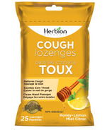 Herbion Cough Lozenges Honey Lemon