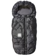 7 A.M. Enfant Blanket 212 Evolution Metallic Charcoal