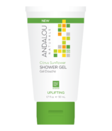 ANDALOU naturals Citrus Sunflower Uplifting Shower Gel Travel Size