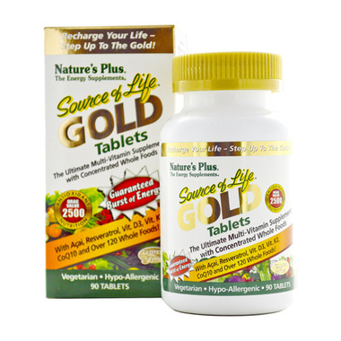 Nature\'s Plus Source of Life Gold Tablets