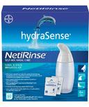 hydraSense NetiRinse 2-in-1 Self-Mix Nasal & Sinus Irrigation Kit