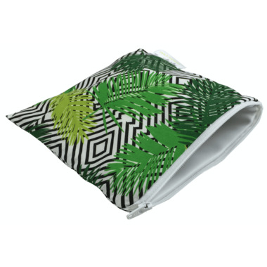 Itzy Ritzy Snack Happens Reusable Snack & Everything Bag Paradise Palm