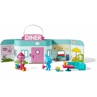 Sago Mini Portable Playset Jack\'s Diner