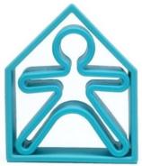dena Toys 1 Kid and 1 House Soft Blue
