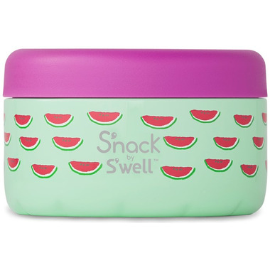 S\'nack x S\'well Slice of Life Food Container