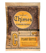 Chimes Peanut Butter Ginger Chews Bag