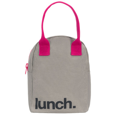 Fluf Zippered Lunch Pink - Well.ca Exclusive
