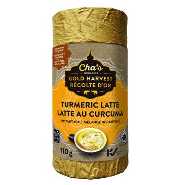 Cha\'s Organics Turmeric Latte Instant Mix
