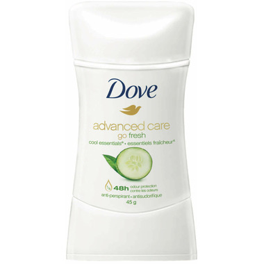 Dove Go Fresh Cool Essentials Cucumber Scent Anti-Perspirant Stick