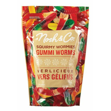 Nosh & Co. Squirmy Wormies Gummi Worms