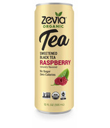 Zevia Organic Sweetened Black Tea Raspberry