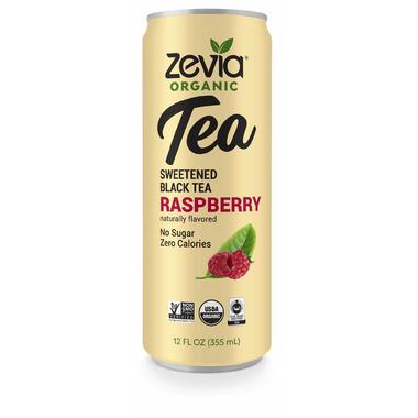 Zevia Organic Sweetened Black Tea Raspberry
