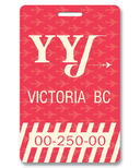 Smitten Kitten Victoria Luggage Tag