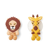 Fox Run Toothbrush Holders Lion & Giraffe