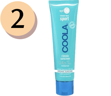 COOLA Sport Face Sunscreen Lotion