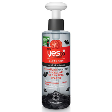 Yes To Tomatoes Detoxifying Charcoal Micellar Cleansing Water