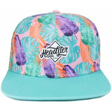 Headster Kids Snapback Hat Palm Beach