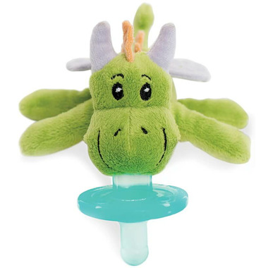 WubbaNub Green Dragon Plush Pacifier