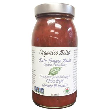 Organico Bello Kale Tomato Basil Pasta Sauce