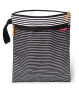 Skip Hop Grab & Go Wet/Dry Bag Black & White Stripe