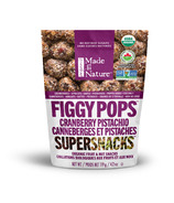 Made in Nature Organic Figgy Pops Cranberry Pistachio