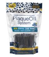 ProDen Plaque Off System Dental Bones MINI Vegetable & Blueberry