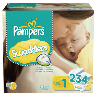 Pampers Swaddlers Economy Plus Pack