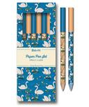 Studio Oh! Paper Pen Set Swan Lake