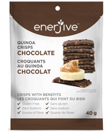 Enerjive Chocolate Quinoa Crisps